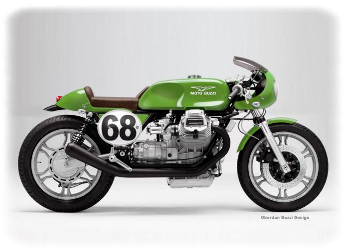 DESIGNER'S CUT Café Racer Projects by Oberdan Bezzi at