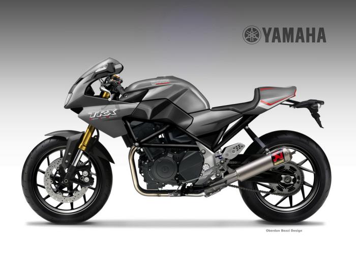 Yamaha Trx 900 By Oberdan Bezzi At Coroflot Com