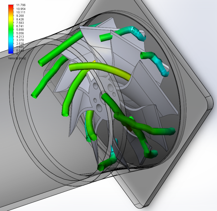 Blade Number Effect on Ducted Fan Performance by Kory