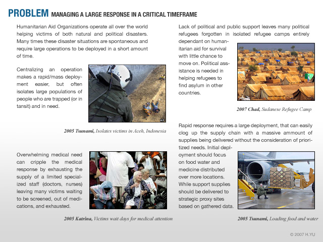 Humanitarian Aid Robot by Henry (Jay) Yu at Coroflot com