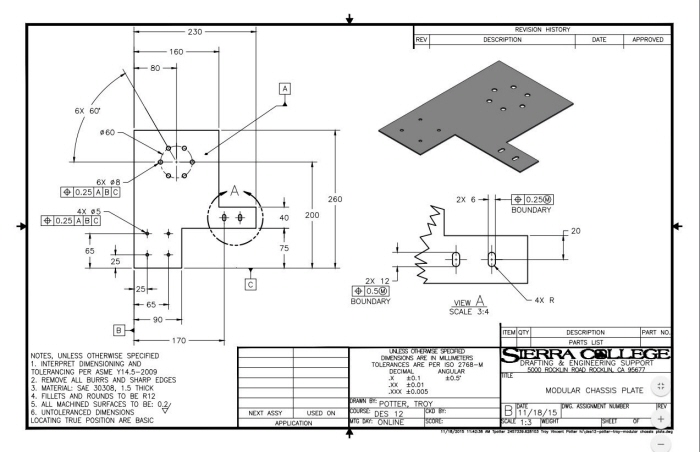 Mechanical Drafting By Troy Potter At Coroflotcom