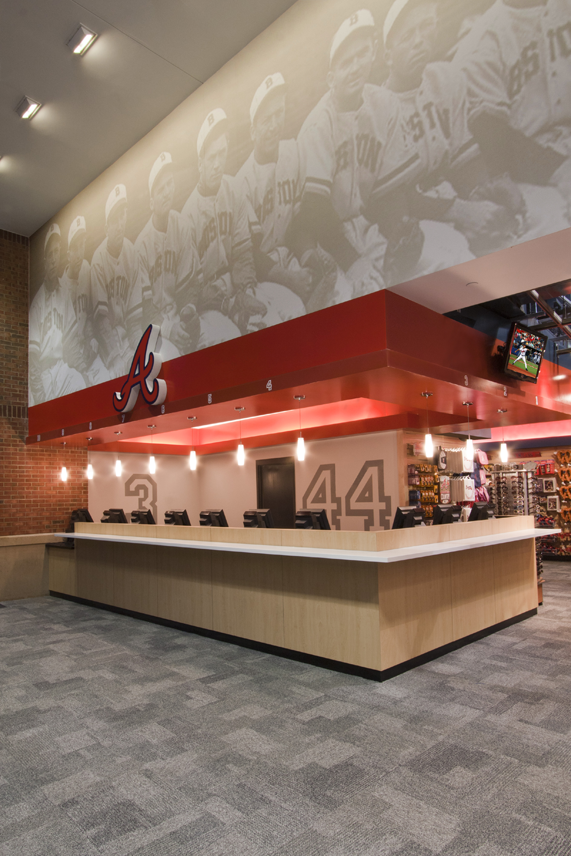 more photos 5d1d1 faf97 Atlanta Braves Clubhouse Store by Michael Palermo at ...