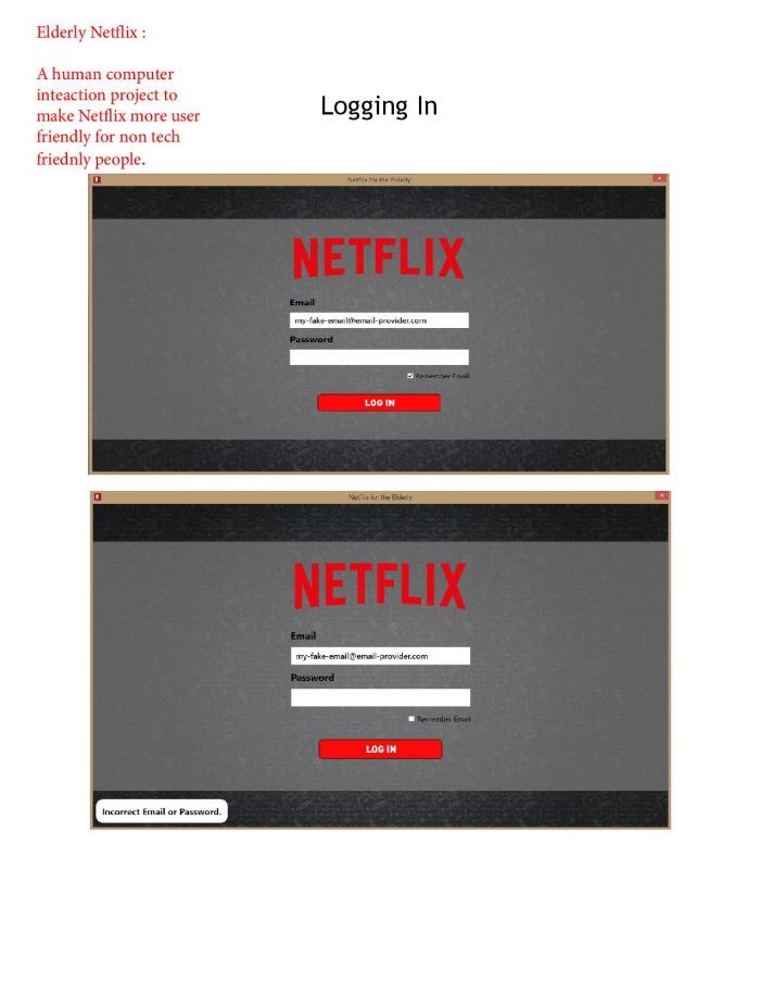 Netflix Elderly by Nily Nazemzadeh at Coroflot com