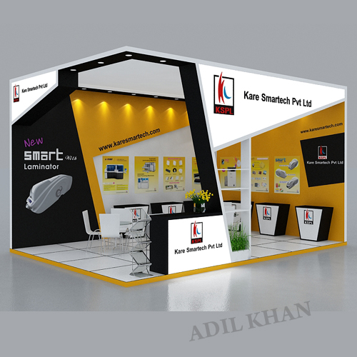 D Exhibition Stall Designer Job In : D stall design and interior by adil khan at