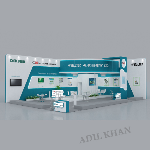 D Exhibition Stall Designer Jobs In Ncr : D stall design and interior by adil khan at