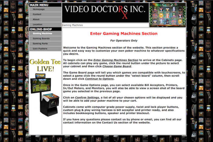 Website Design & Development (Video Doctors Inc ) by Jon