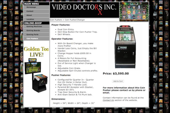 Website Design & Development (Video Doctors Inc ) by Jon Agen at