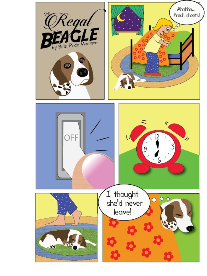 Bekannt The Regal Beagle Comic Strip by Beth Price Morrison at Coroflot.com GF93