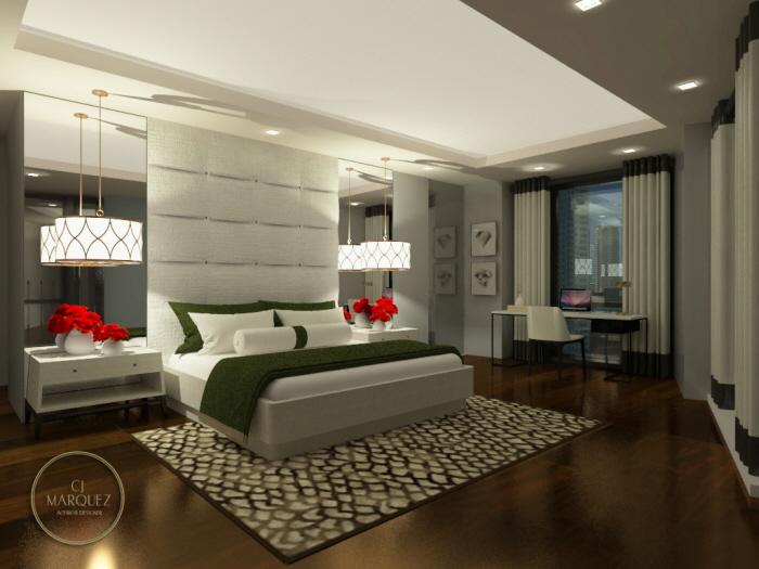 Chic Contemporary Master Bedroom Design by Carlo Jon Marquez ...