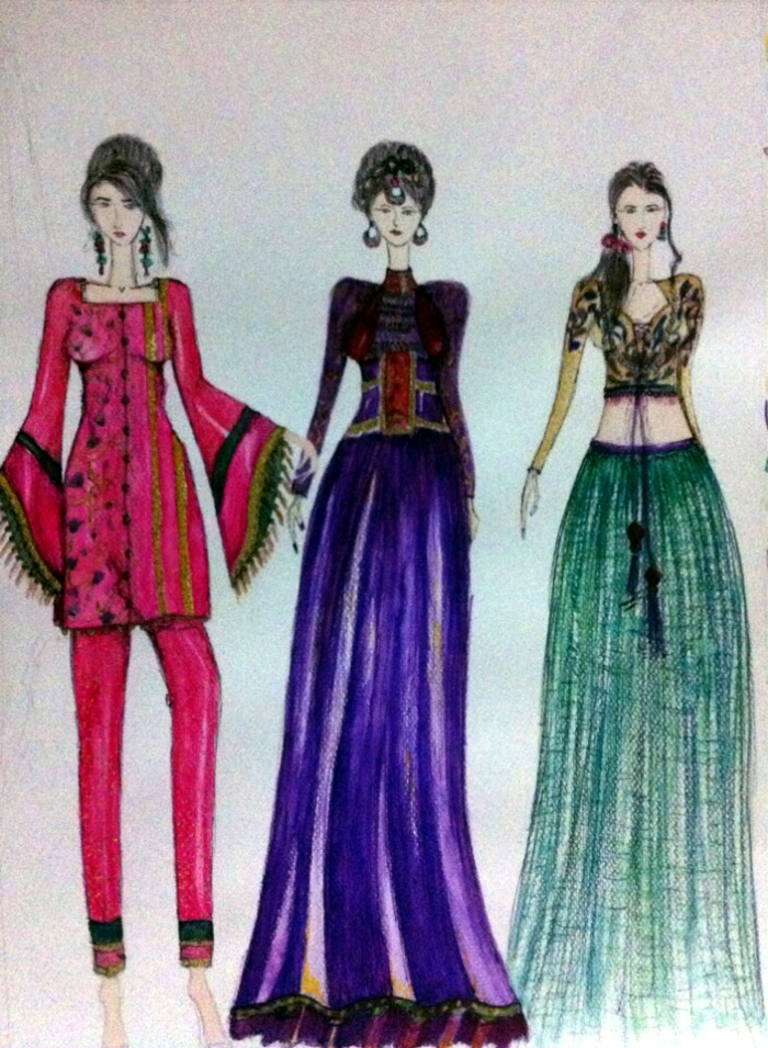 Rajasthani Fashion By Warda Aftab At Coroflot Com