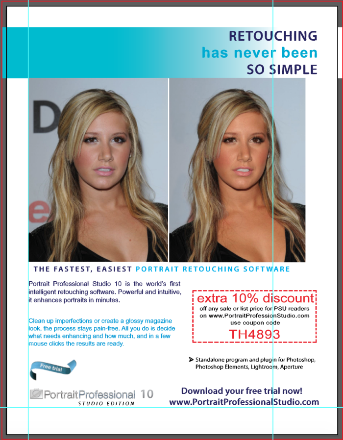 Photoshop Retouch by Brianne Dee at Coroflot com