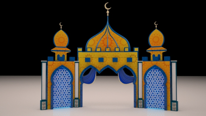 Exhibition Stand University : Ramadan mall decoration by govindaraj vadivelu at coroflot