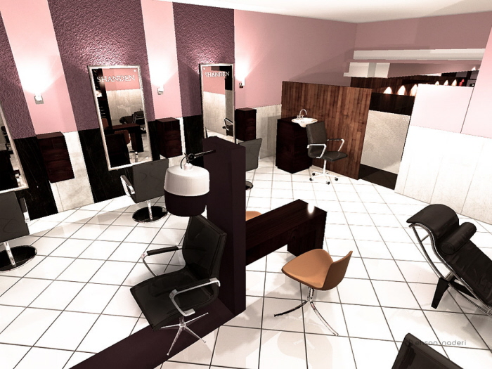 Beauty Salon Interior Design By Ehsan Naderi At Coroflot Com