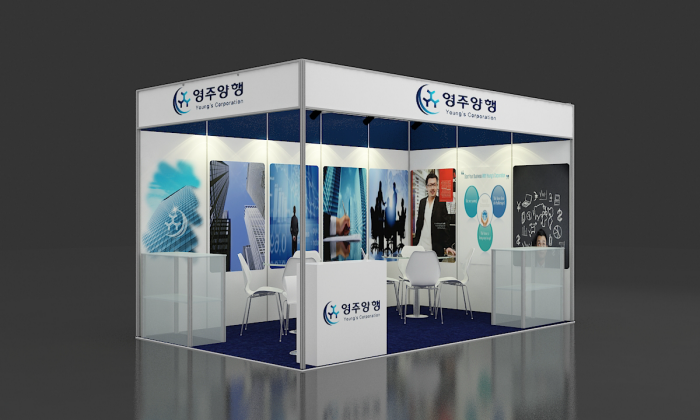 Exhibition Stall Design Octanorm : Octanorm stall design for zenith events by subash chandra