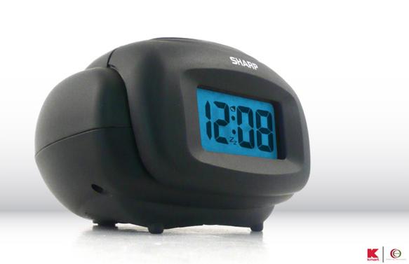 SHARP LCD Alarm Clock by Michelle Stern at Coroflot com