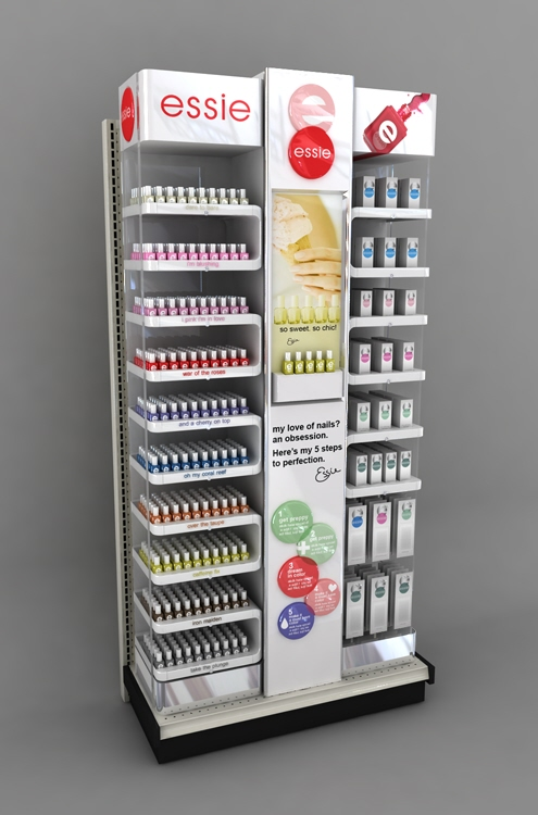 Essie Endcap And In Line Units By Ricky Cordero At