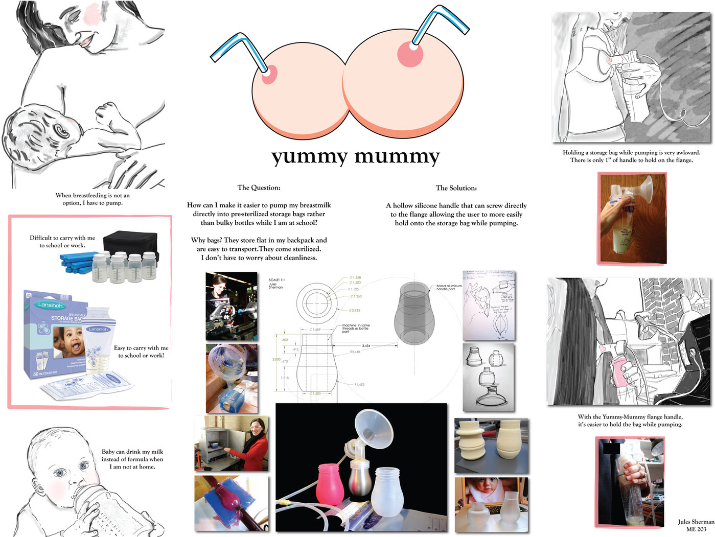 Yummy Mummy By Jules Sherman At Coroflot Com