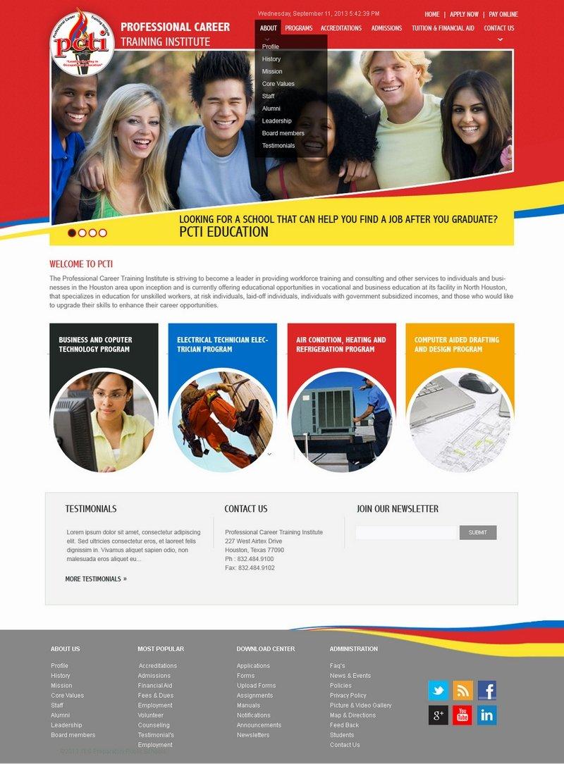 Templates Webdesigns creative portfolio latest website