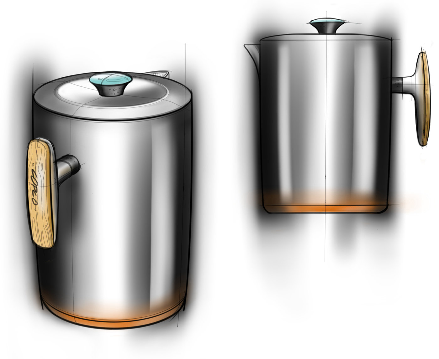 Product Sketching Amp 2d Rendering By Mason Umholtz At
