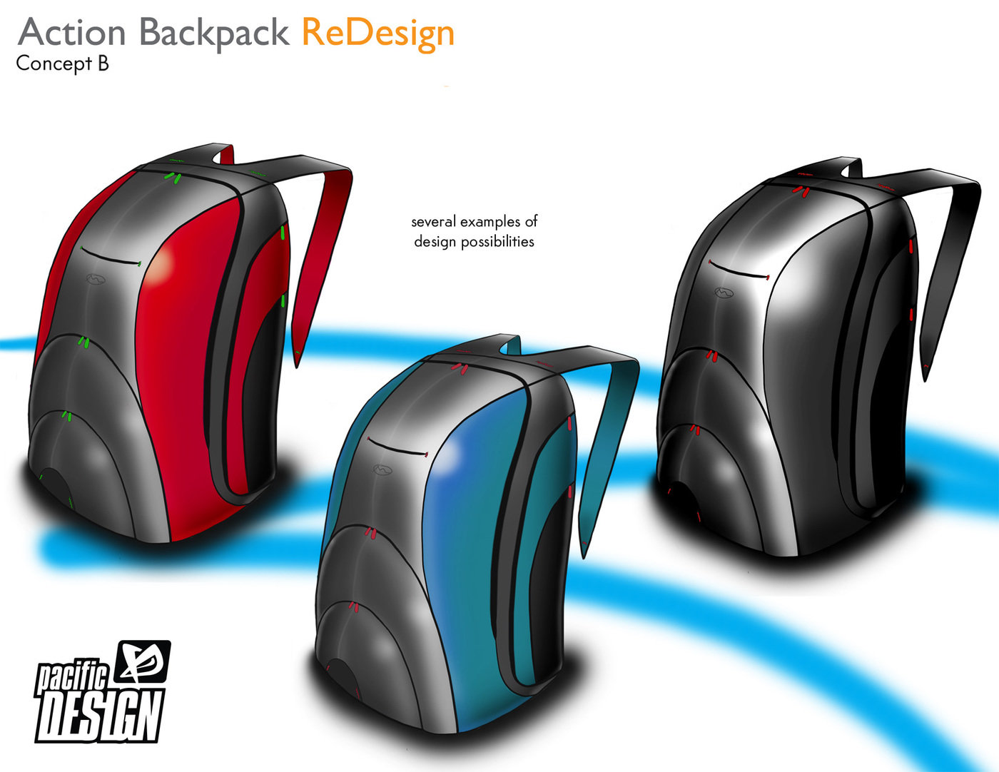 pacific design technology bags and packs by taylor welden industrial designer at. Black Bedroom Furniture Sets. Home Design Ideas