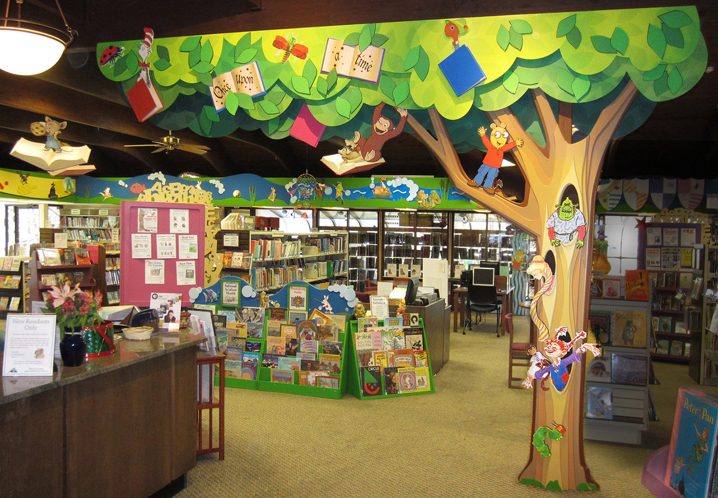 Upper Saddle River Nj >> Childrens Library Design by Janice Davis at Coroflot.com