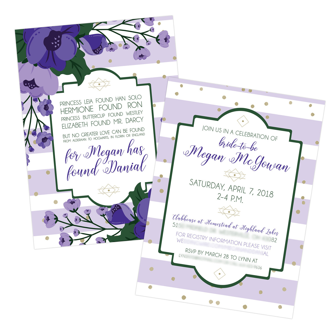 Invitations By Kate Paullin At Coroflot Com