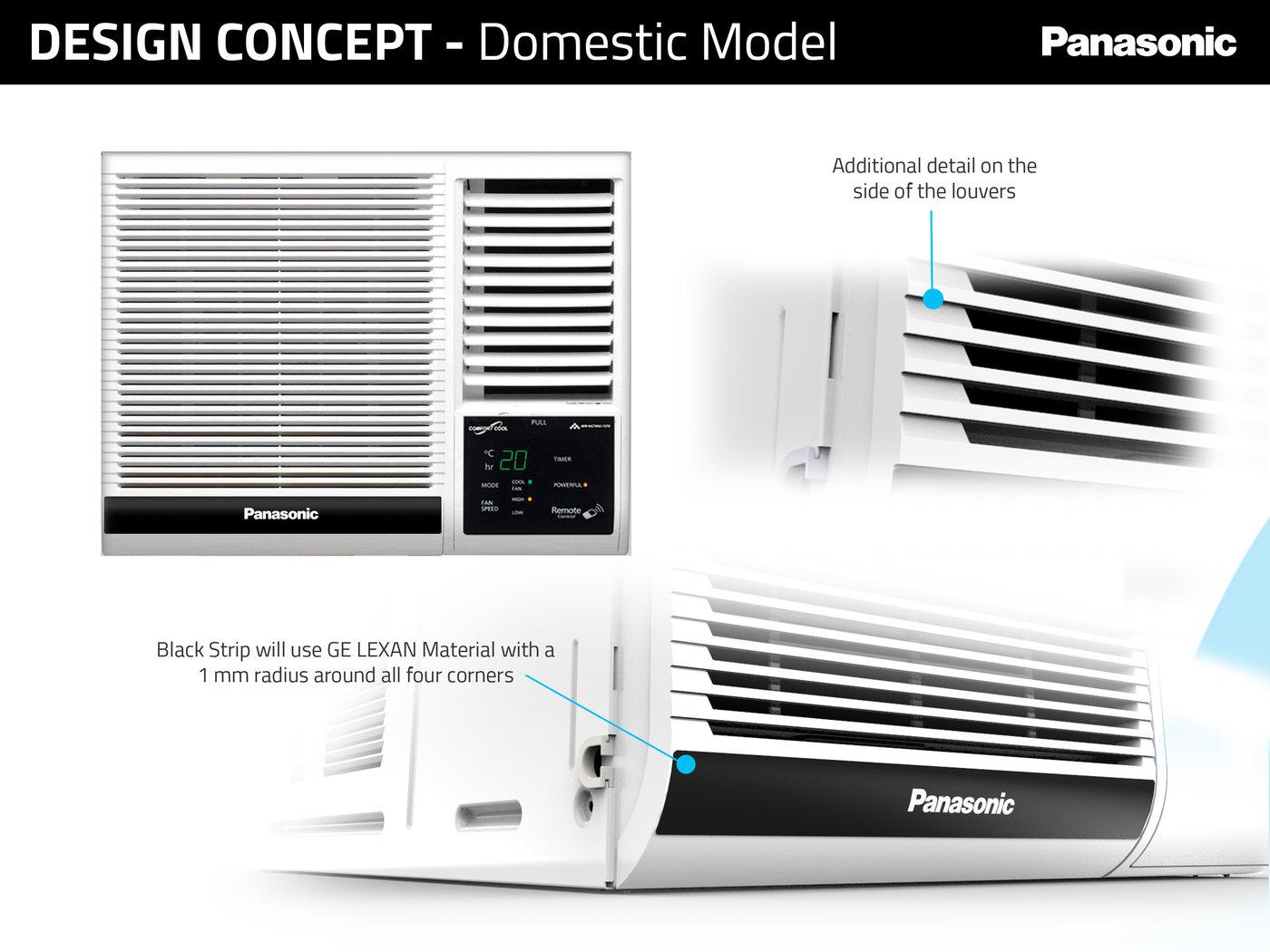 Panasonic Window Air Conditioner By Nicole Varona At
