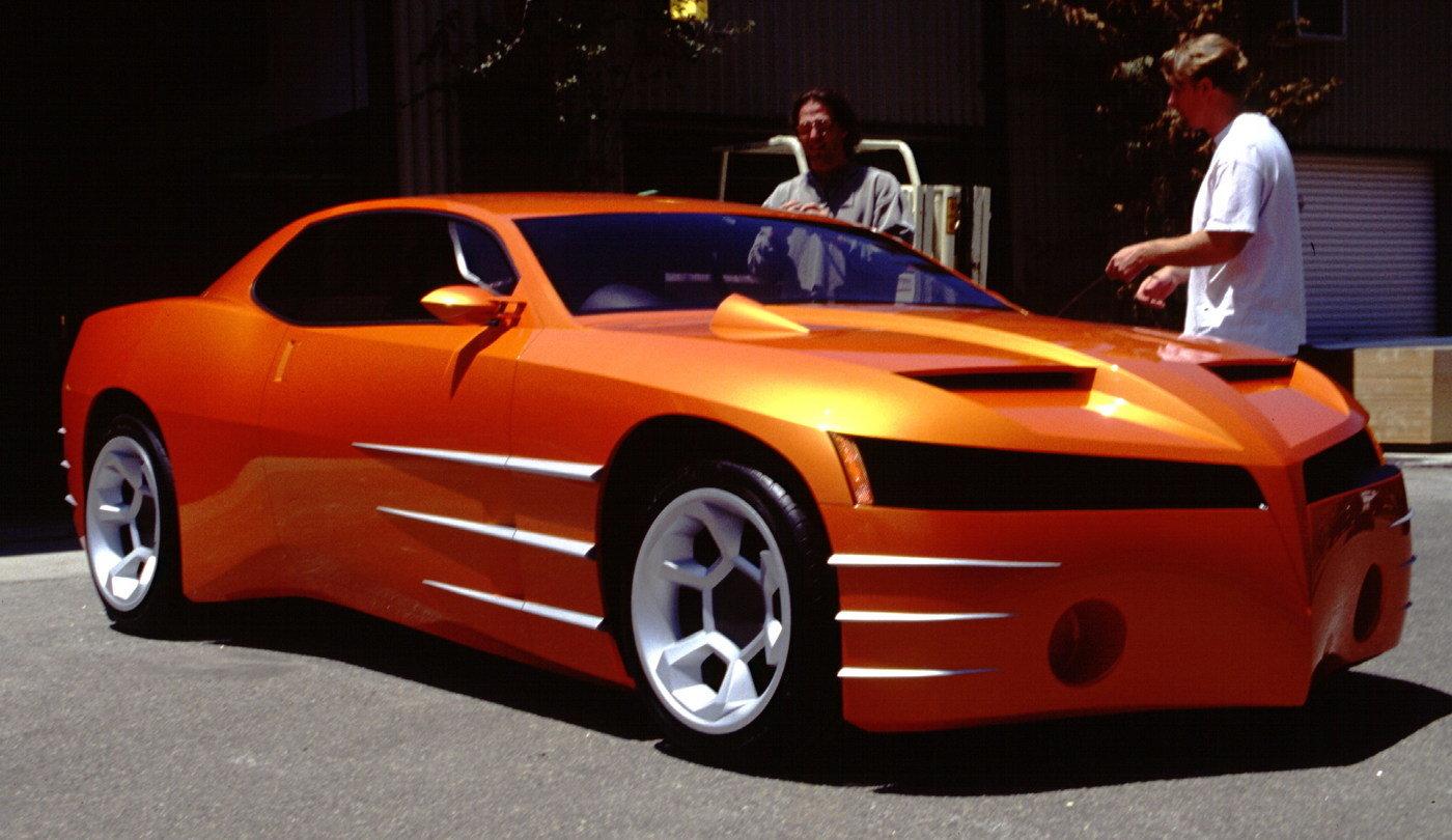 Pontiac GTO Concept Model by Jay Brett at Coroflot.com