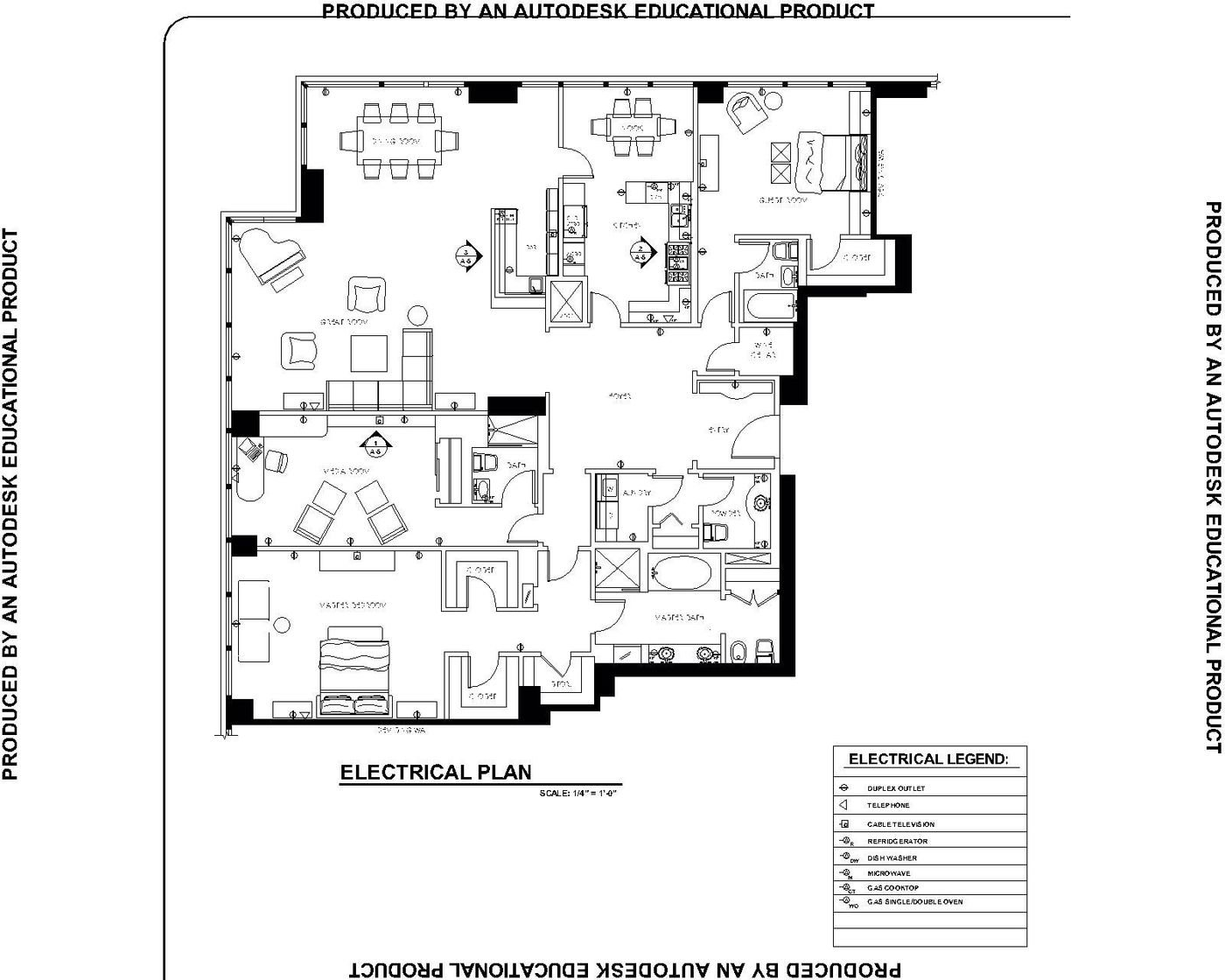 Lighting Residential: Electrical Plan