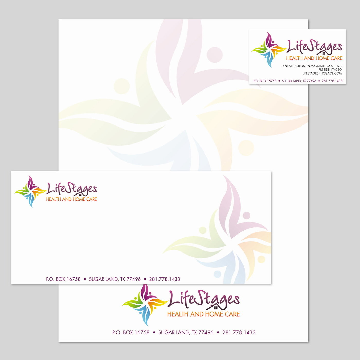 Business cards by jennifer bury at coroflot lifestyles stationery business card letterhead and envelope reheart Image collections