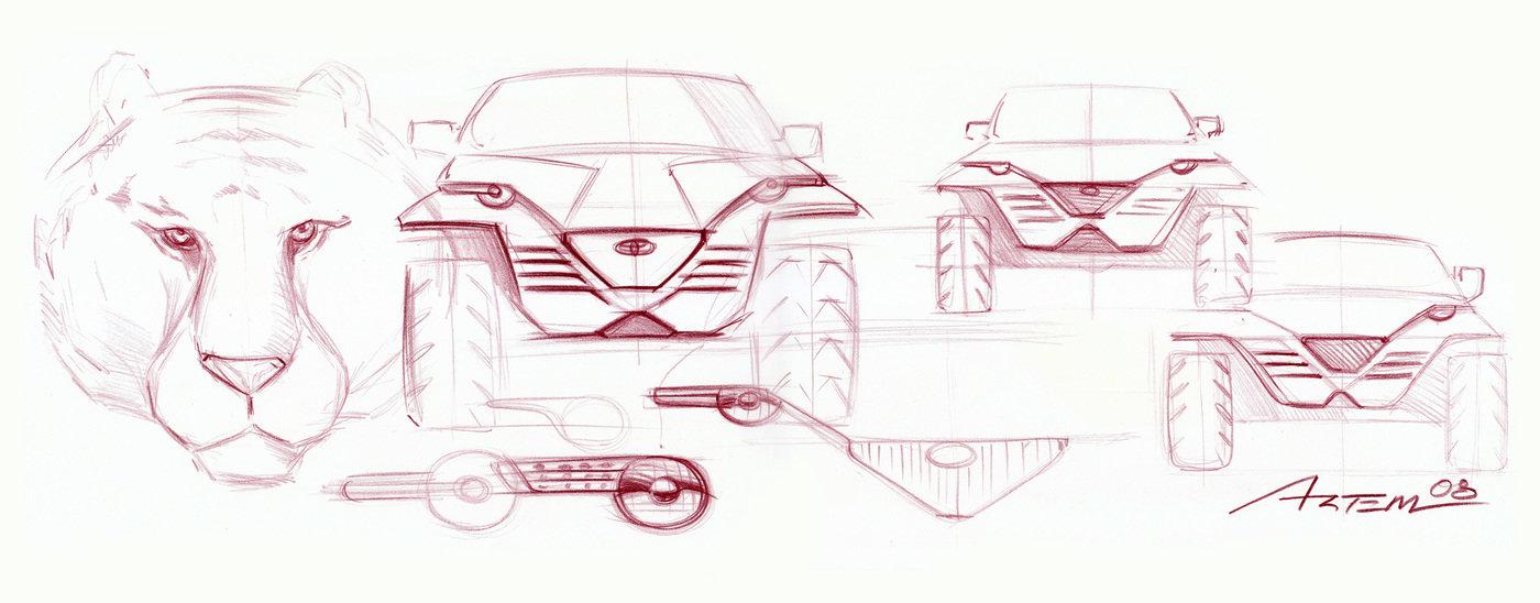 Car Design 2 Art Center Of Pasadena By Artem Navasardyan At
