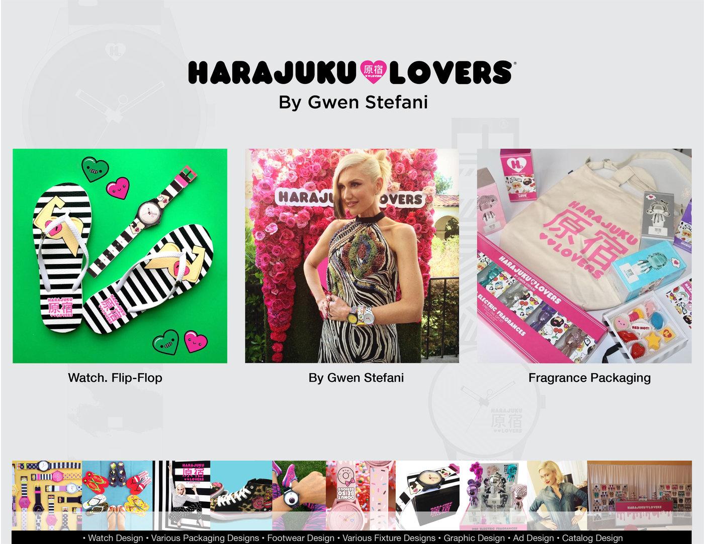 Gwen Stefani S Harajuku Lovers Harajuku Mini By Steve S Chang At Coroflot Com