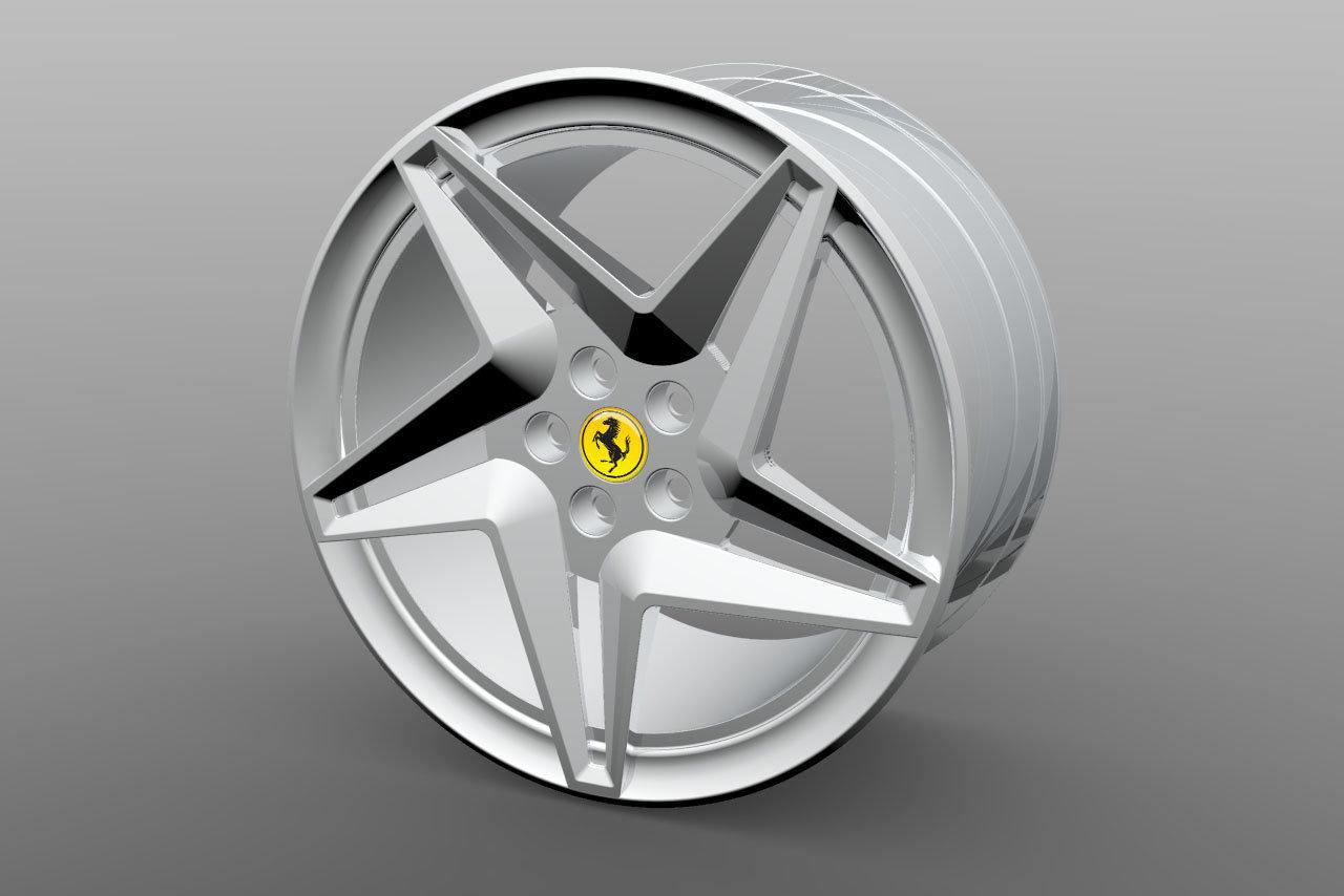 Ferrari F8 Tributo Wheel Réplica By André Domingues At Coroflot Com