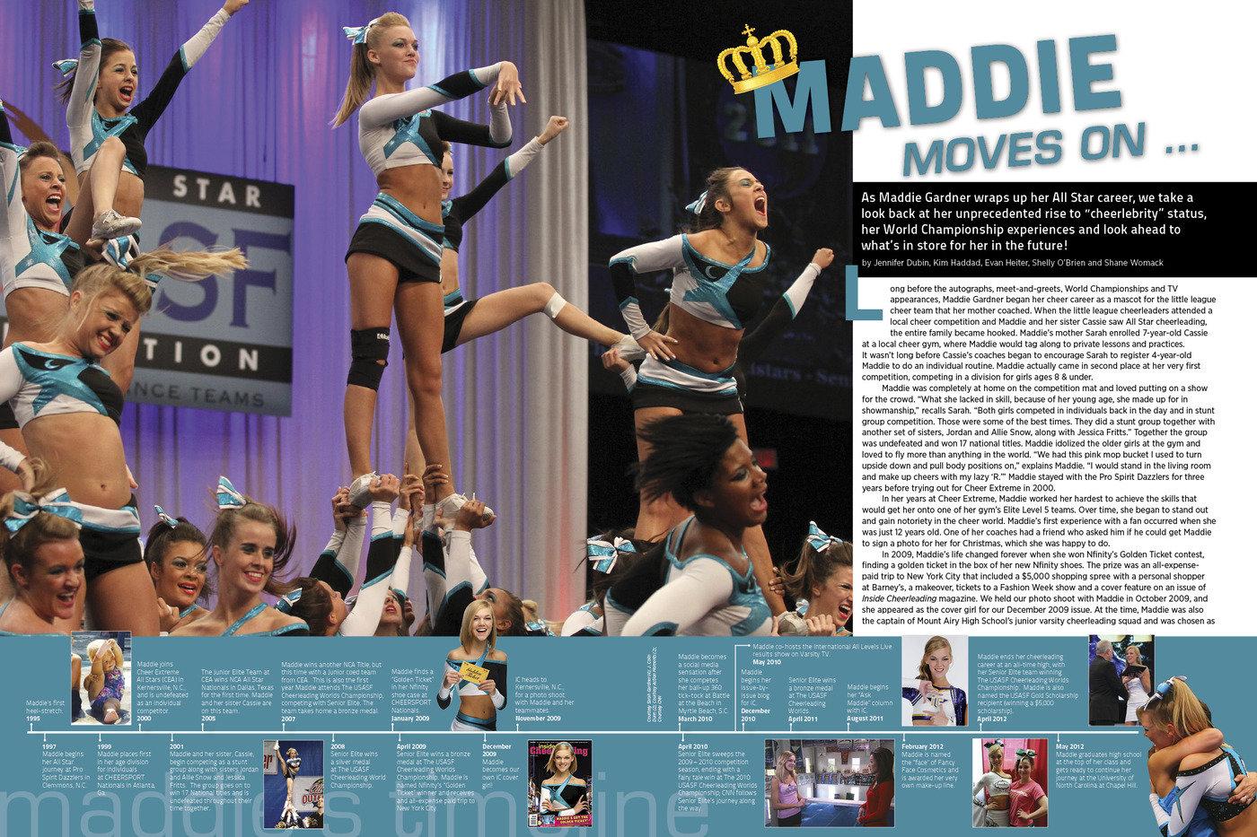Inside Cheerleading Magazine By Courtney Wilkes Muller At Coroflot