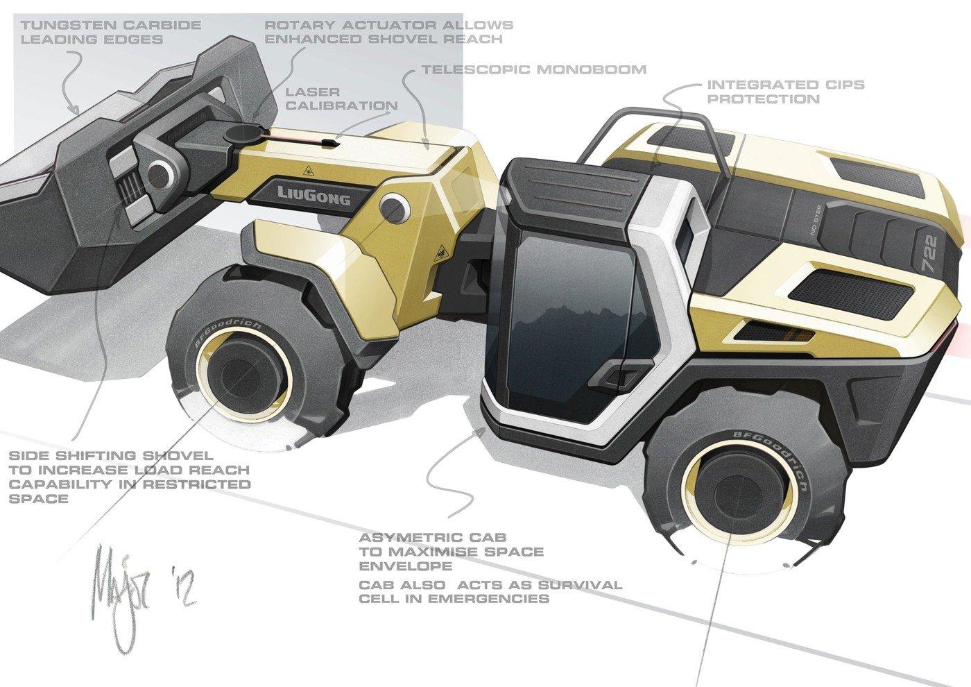Construction Equipment by Gary Major at Coroflot.com