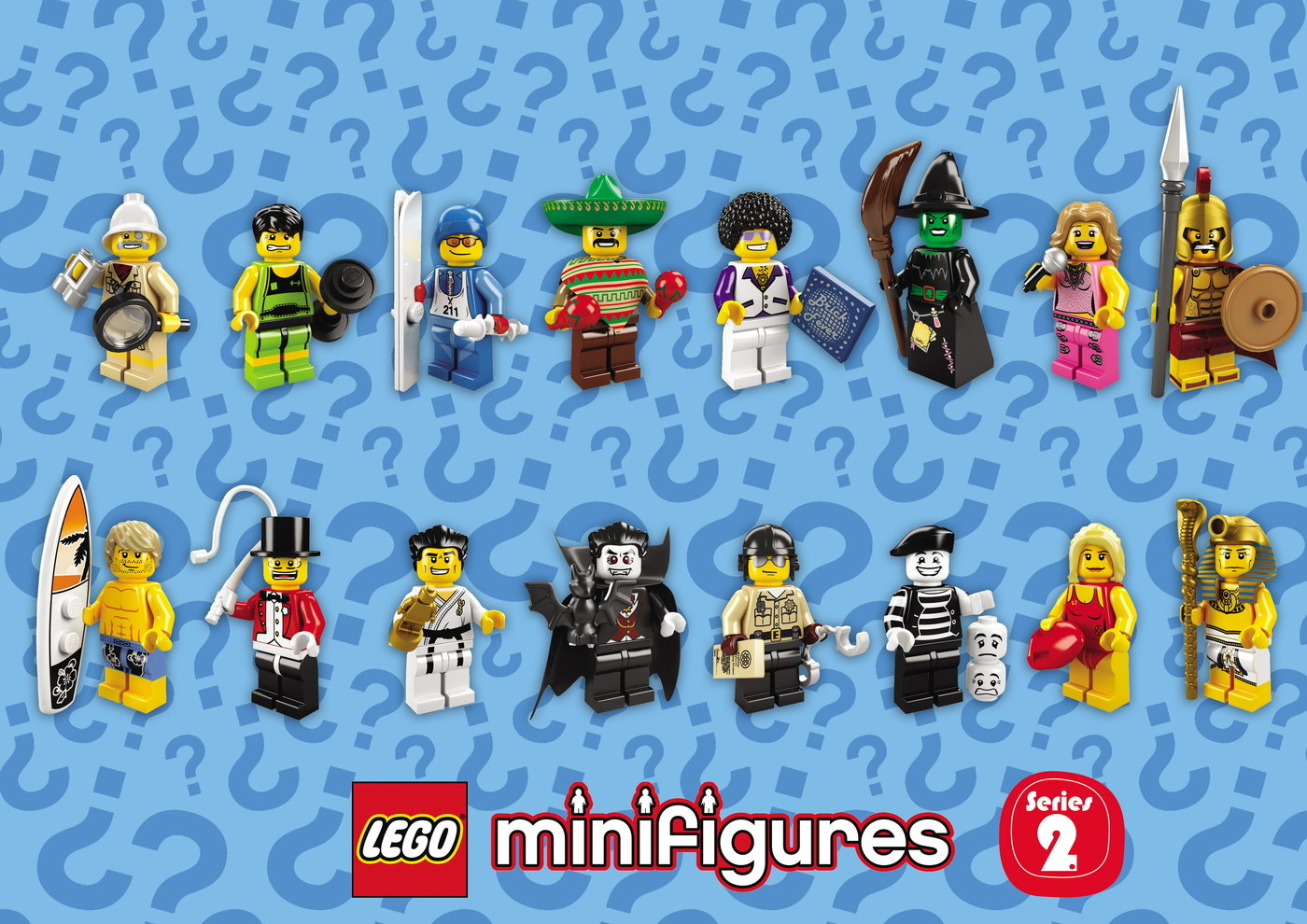 lego minifigures series 2 - HD 1400×990