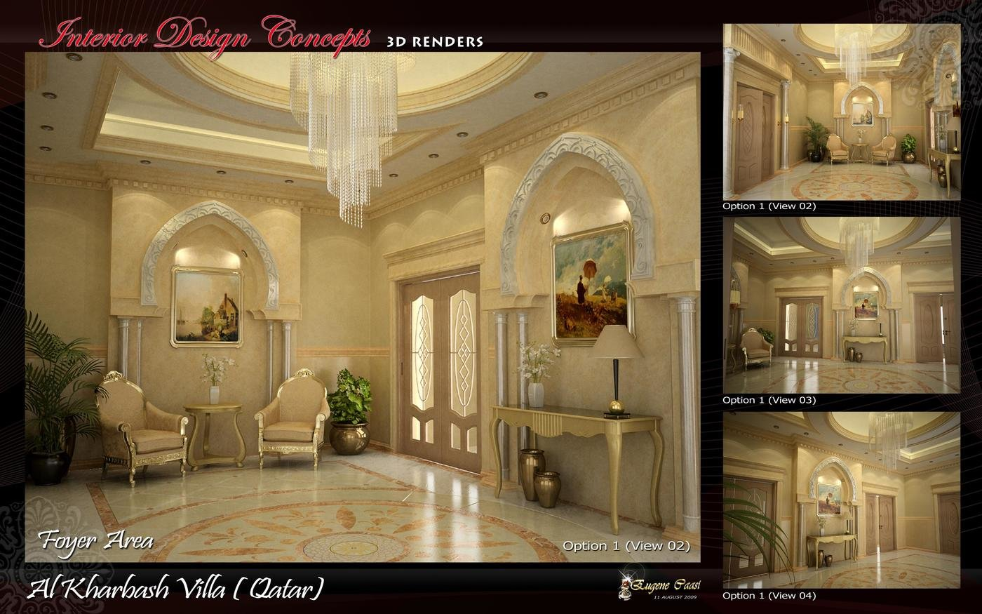 3D VARIOUS AREAS by eugene caasi at Coroflot com