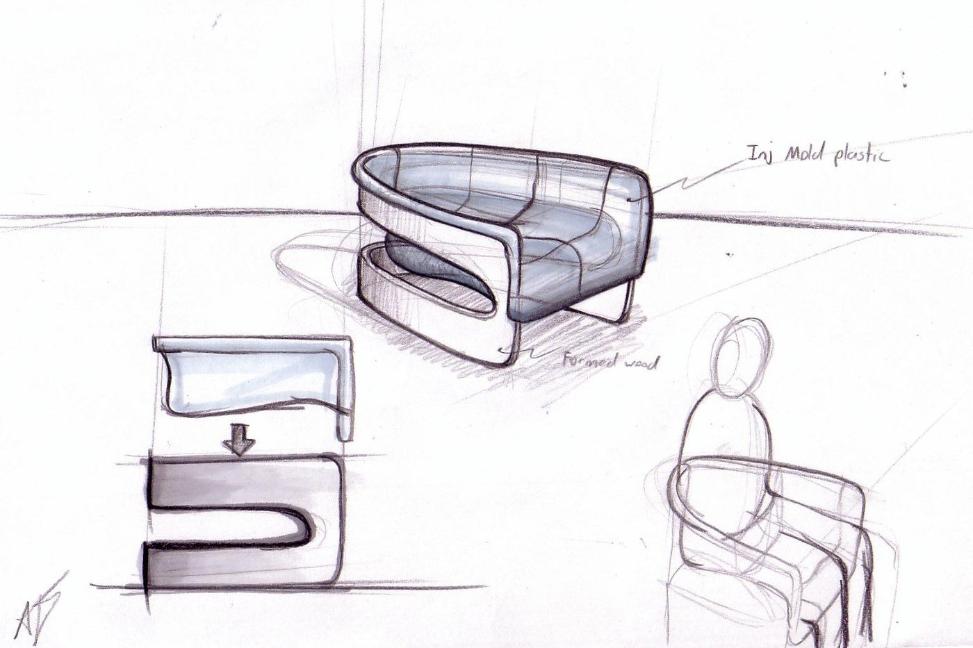 Product Design Sketches Ideation By Antoine Desjardins