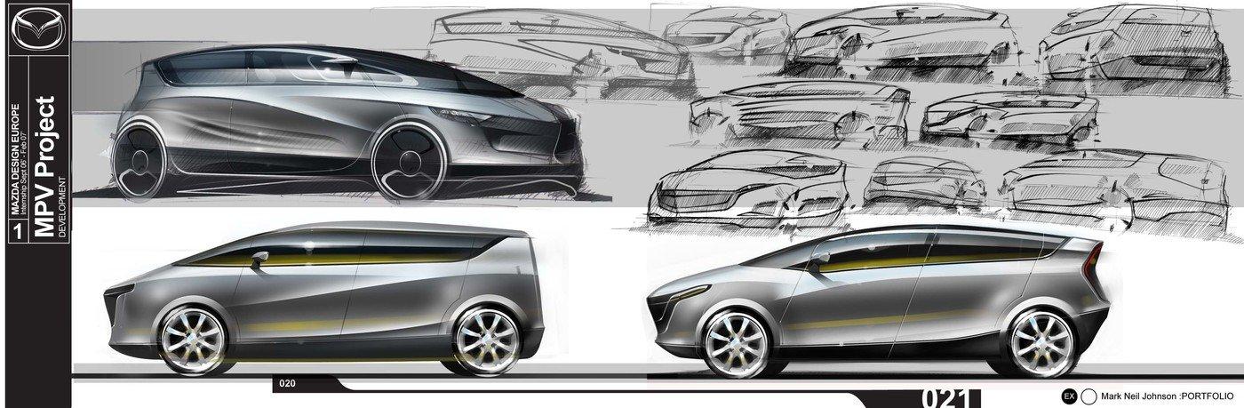 3-Mazda MPV by Mark Neil Johnson at Coroflot com