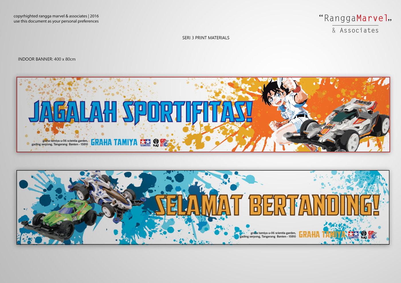 graha tamiya kai prints and promotions by rangga marvel at