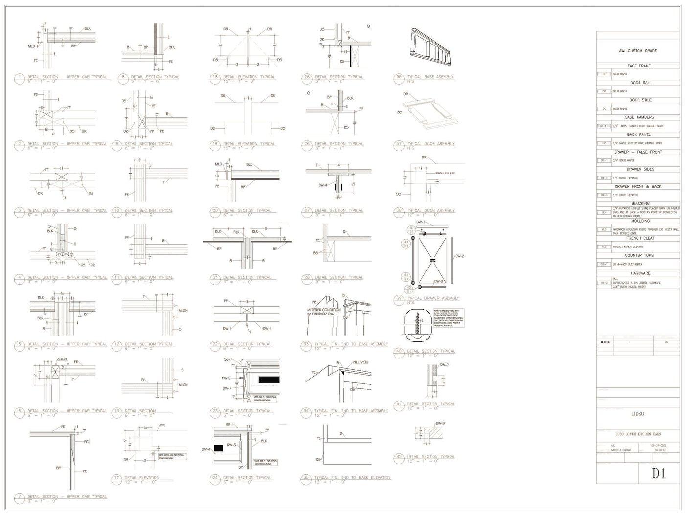 Technical drawings by ALBERT B  JACKSON at Coroflot com