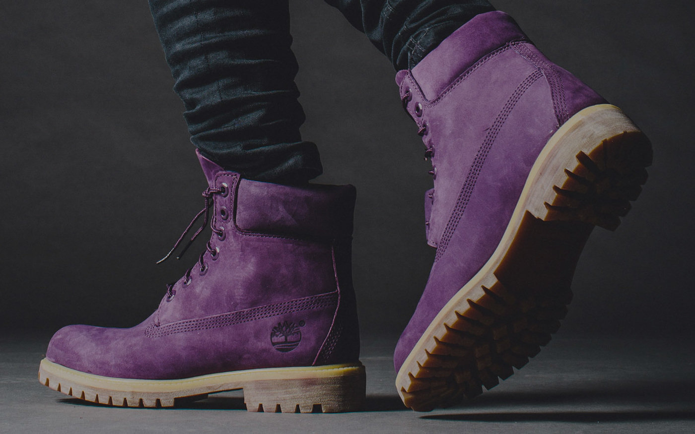140f785a6e05 Villa x Timberland  Purple Diamond by Aaron Kincaid at Coroflot.com