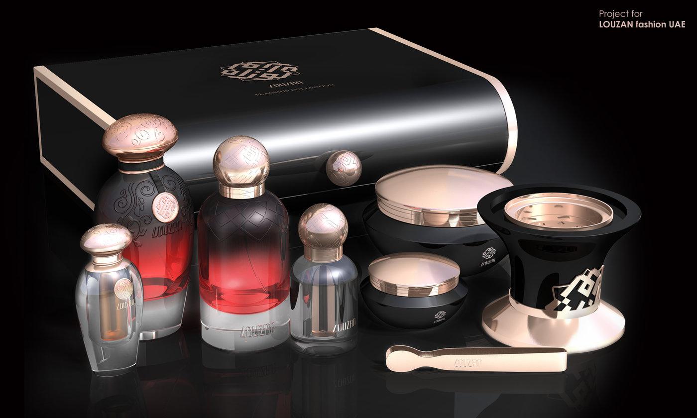 LOUZAN Fragrance by Abhilash Chandrasekharan at Coroflot com