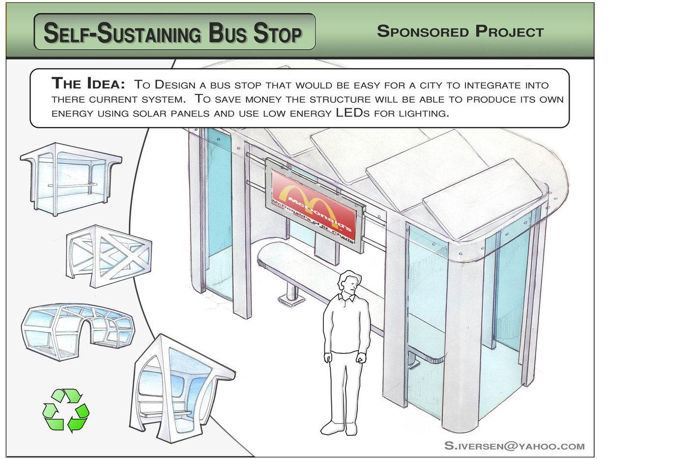Bus Stop By Sean Iversen At Coroflot Com