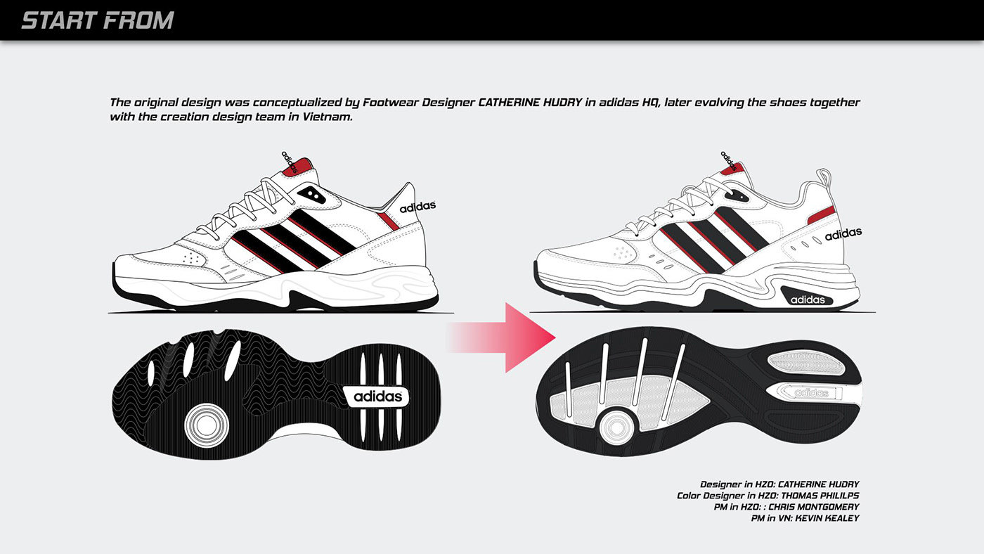 Adidas Strutter by Eric Chen