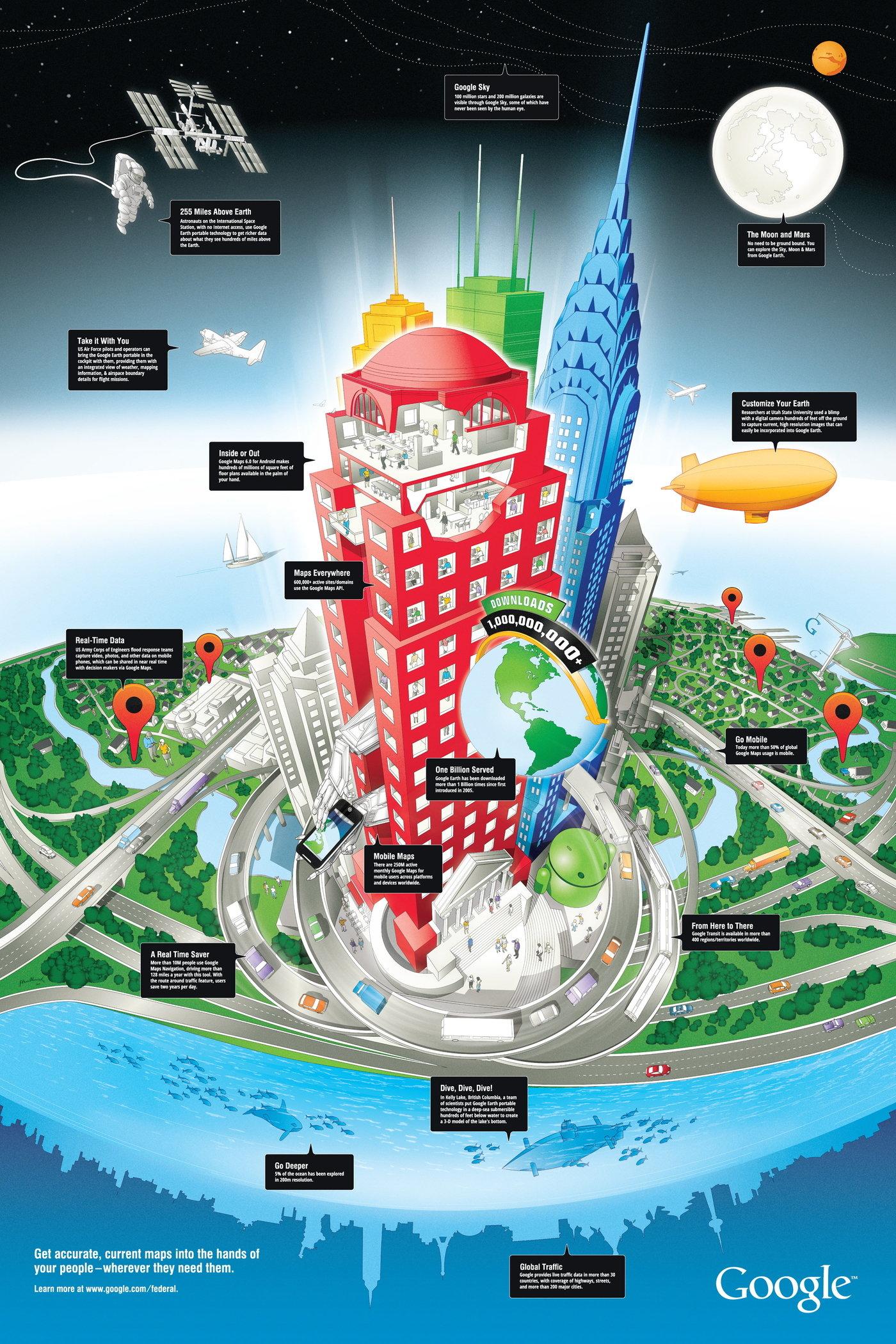 Google Earth Poster by Max Hancock at Coroflot com
