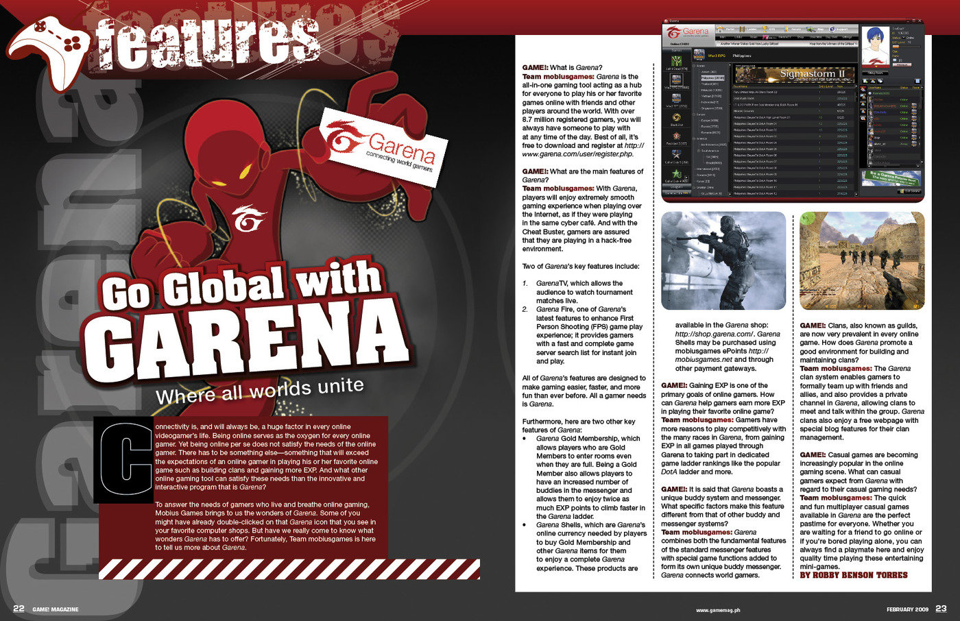 GAME Magazine New Inside Pages by Patrick Milan at Coroflot com