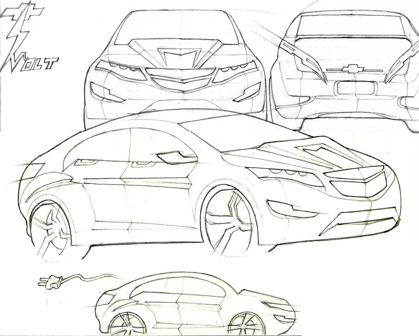 automotive concept sketches by gebre mesquitta at coroflot com