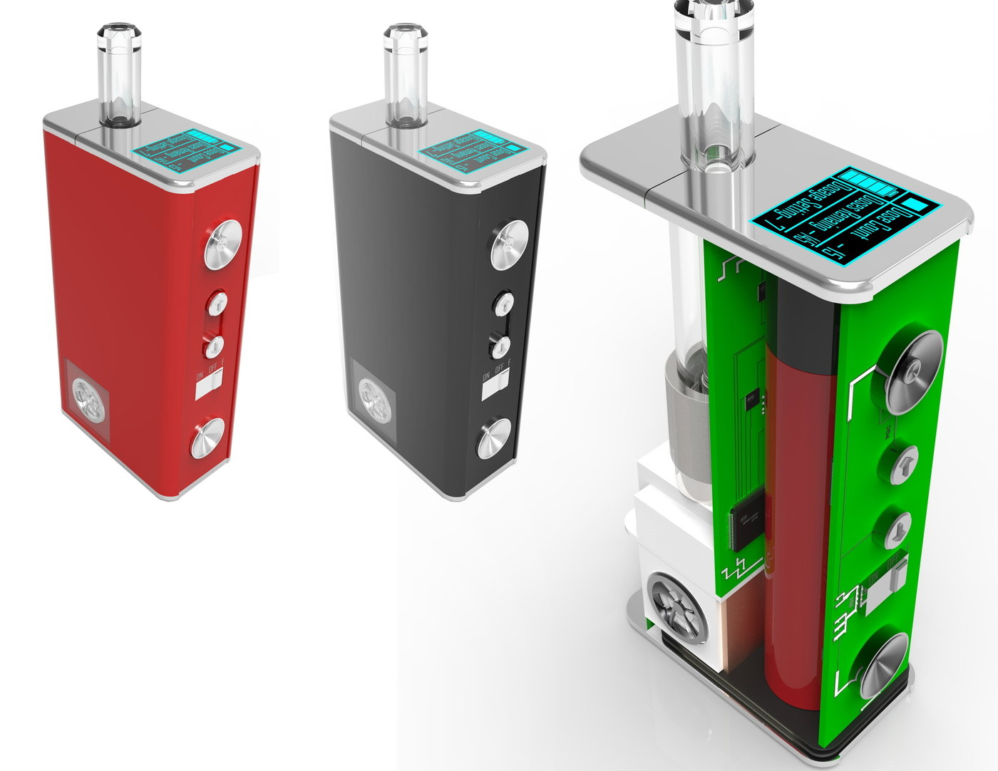 E-cigs, Vape Pen Design, etc   by Gebre Mesquitta at