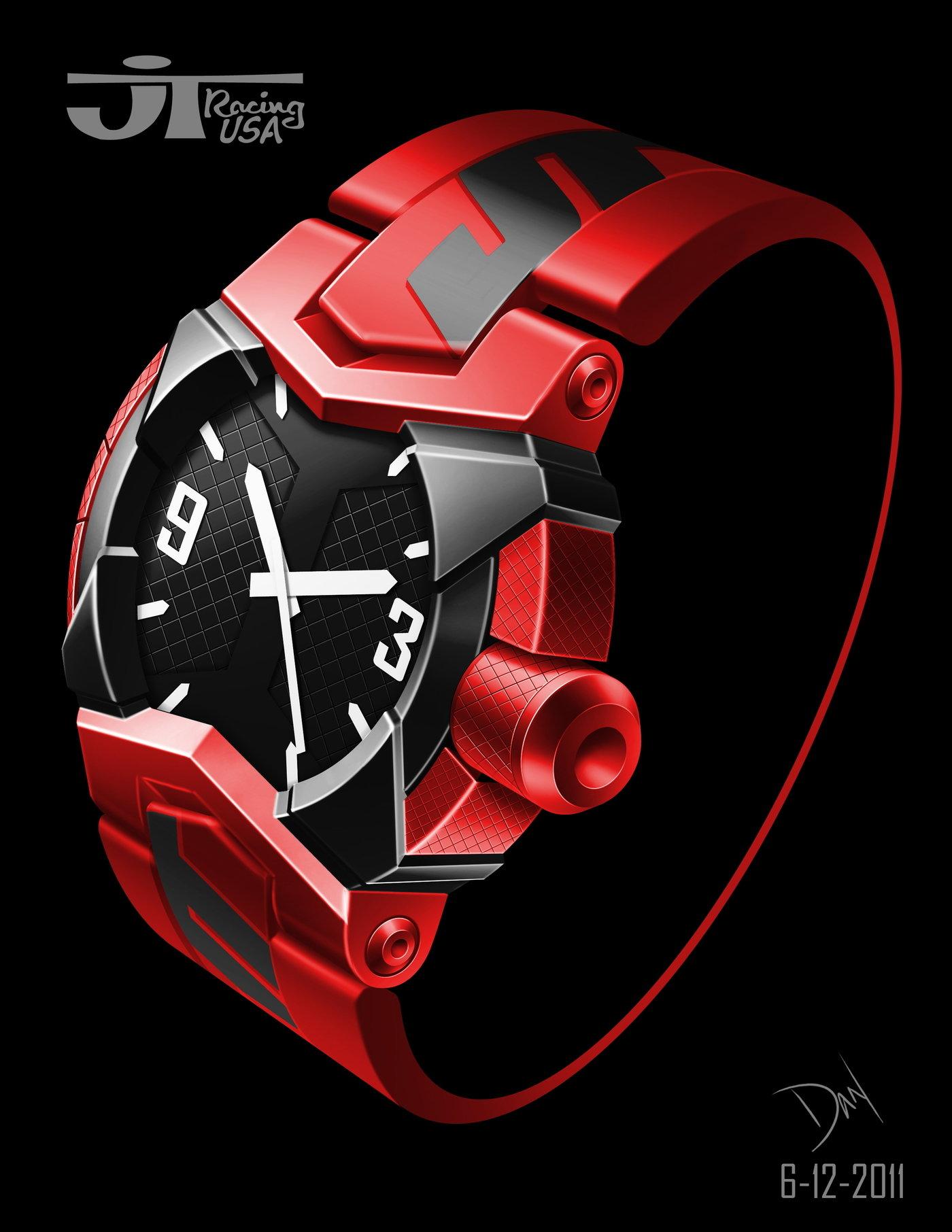 JT Racing Watch by Dan Winger at Coroflot com